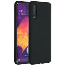 Accezz Liquid Silicone Backcover Samsung Galaxy A50 / A30s - Zwart
