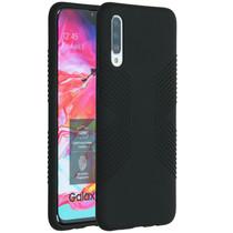 Accezz Impact Grip Backcover Samsung Galaxy A70 - Zwart