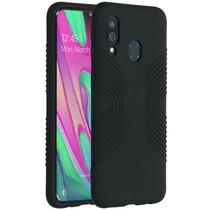 Accezz Impact Grip Backcover Samsung Galaxy A40 - Zwart