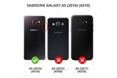 Samsung Galaxy A5 (2016) hoesje - Color Backcover voor Samsung