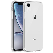 Accezz Clear Backcover iPhone Xr - Transparant