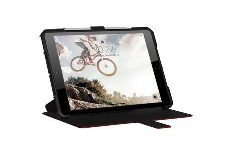 UAG Metropolis Bookcase voor iPad 10.2 (2019) - Rood