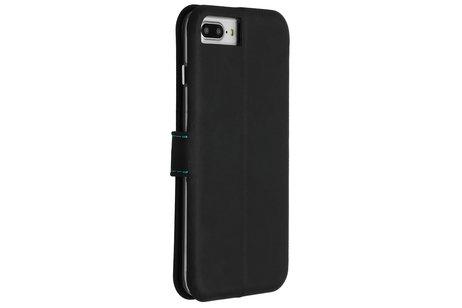 Valenta Impact Wallet Booktype voor de iPhone 8 Plus / 7 Plus / 6(s) Plus - Zwart / Blauw