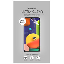 Selencia Duo Pack Ultra Clear Screenprotector Samsung Galaxy A51