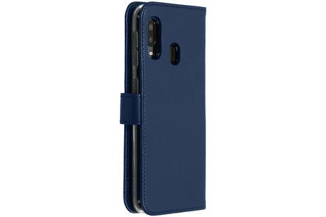 Samsung Galaxy A20e hoesje - Selencia Echt Lederen Booktype