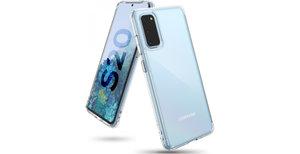 Ringke Fusion Backcover Samsung Galaxy S20 - Transparant