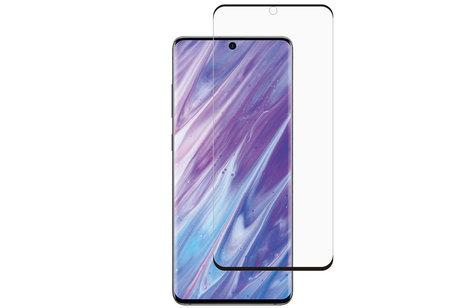 Selencia Gehard Glas Premium Screenprotector voor de Samsung Galaxy S20 Plus - Zwart