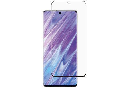 Selencia Gehard Glas Premium Screenprotector voor de Samsung Galaxy S20 Ultra - Zwart