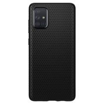 Spigen Liquid Air Backcover Samsung Galaxy A71 - Zwart