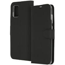 Accezz Wallet Softcase Booktype Samsung Galaxy A71 - Zwart