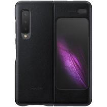 Samsung Leather Backcover Galaxy Fold - Zwart