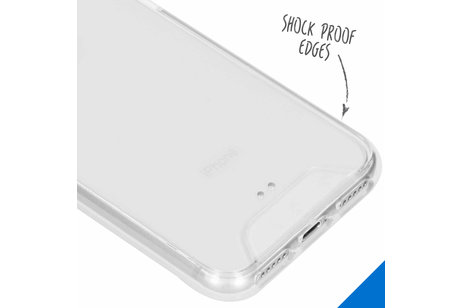 Accezz Xtreme Impact Backcover voor iPhone SE (2020) / 8 / 7 / 6(s) - Transparant