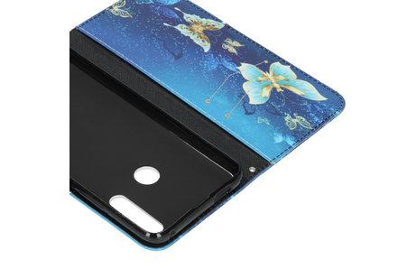 Honor 9X hoesje - Design Softcase Booktype voor