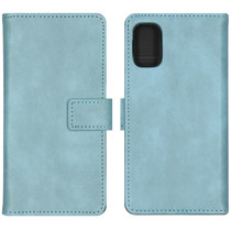 iMoshion Luxe Booktype Samsung Galaxy A41 - Lichtblauw
