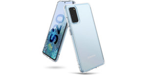 Ringke Fusion Matte Backcover Samsung Galaxy S20 - Transparant
