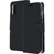 Accezz Wallet Softcase Booktype Samsung Galaxy A41 - Zwart