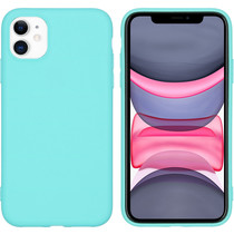 iMoshion Color Backcover iPhone 11 - Mintgroen