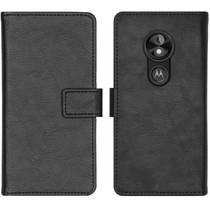 iMoshion Luxe Booktype Motorola Moto E5 Play - Zwart