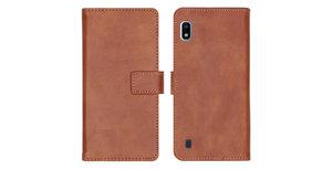 iMoshion Luxe Booktype Samsung Galaxy A10 - Bruin