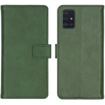 iMoshion Luxe Booktype Samsung Galaxy A51 - Groen