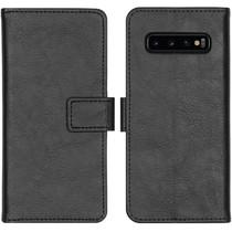 iMoshion Luxe Booktype Samsung Galaxy S10 - Zwart