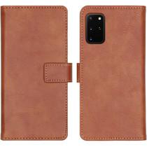 iMoshion Luxe Booktype Samsung Galaxy S20 Plus - Bruin