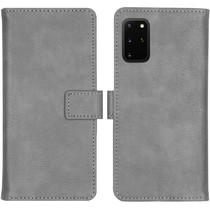 iMoshion Luxe Booktype Samsung Galaxy S20 Plus - Grijs