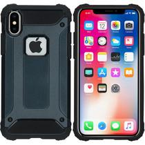 iMoshion Rugged Xtreme Backcover iPhone X - Donkerblauw