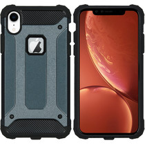 iMoshion Rugged Xtreme Backcover iPhone Xr - Donkerblauw
