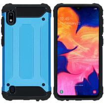 iMoshion Rugged Xtreme Backcover Samsung Galaxy A10 - Lichtblauw