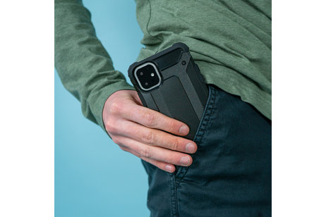 iMoshion Rugged Xtreme Backcover voor de Samsung Galaxy A50 / A30s - Zwart