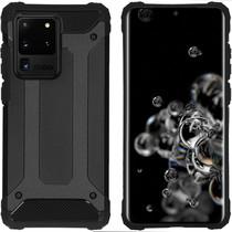 iMoshion Rugged Xtreme Backcover Samsung Galaxy S20 Ultra - Zwart