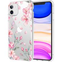 iMoshion Design hoesje iPhone 11 - Bloem - Roze