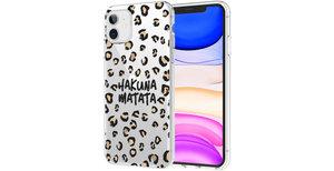 iMoshion Design hoesje iPhone 11 - Luipaard - Bruin / Zwart