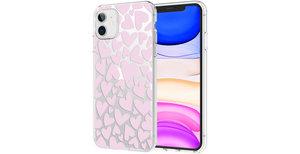 iMoshion Design hoesje iPhone 11 - Hartjes - Roze