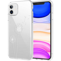 iMoshion Design hoesje iPhone 11 - Paardenbloem - Wit