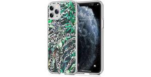 iMoshion Design hoesje iPhone 11 Pro - Jungle - Wit / Zwart / Groen