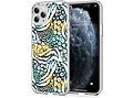 iMoshion Design hoesje voor de iPhone 11 Pro - Jungle - Wit / Zwart / Groen