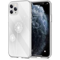iMoshion Design hoesje iPhone 11 Pro - Paardenbloem - Wit