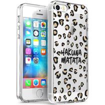iMoshion Design hoesje iPhone 5 / 5s / SE - Luipaard - Bruin / Zwart