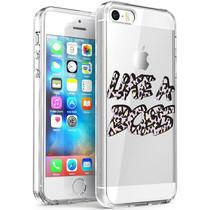 iMoshion Design hoesje iPhone 5 / 5s / SE - Like A Boss - Paars