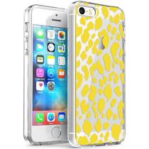 iMoshion Design hoesje iPhone 5 / 5s / SE - Luipaard - Geel