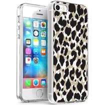 iMoshion Design hoesje iPhone 5 / 5s / SE - Luipaard - Goud / Zwart