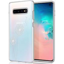 iMoshion Design hoesje Samsung Galaxy S10 - Paardenbloem - Wit