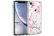 iMoshion Design hoesje voor de iPhone Xr - Bloem - Roze