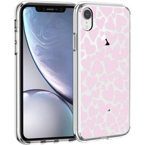 iMoshion Design hoesje iPhone Xr - Hartjes - Roze