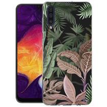 iMoshion Design hoesje Galaxy A50 / A30s - Jungle - Groen / Roze