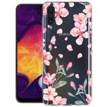 iMoshion Design hoesje Samsung Galaxy A50 / A30s - Bloem - Roze
