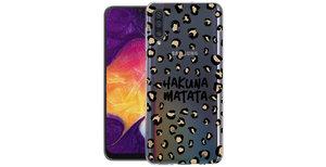 iMoshion Design hoesje Galaxy A50 / A30s - Luipaard - Bruin / Zwart