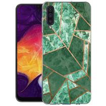 iMoshion Design hoesje Galaxy A50 / A30s - Grafisch Koper - Groen